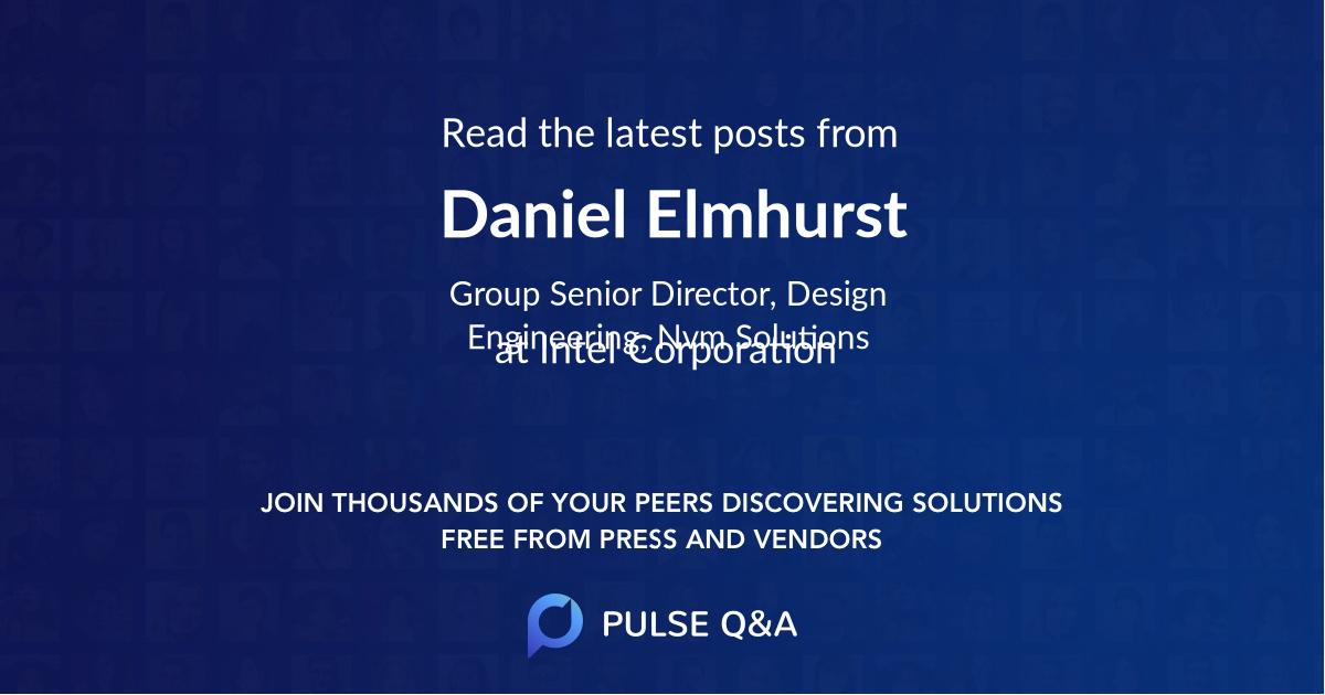 Daniel Elmhurst