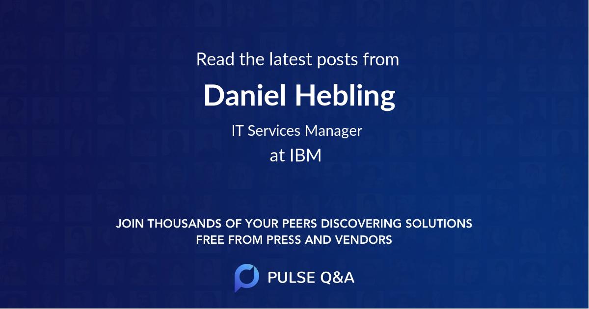 Daniel Hebling