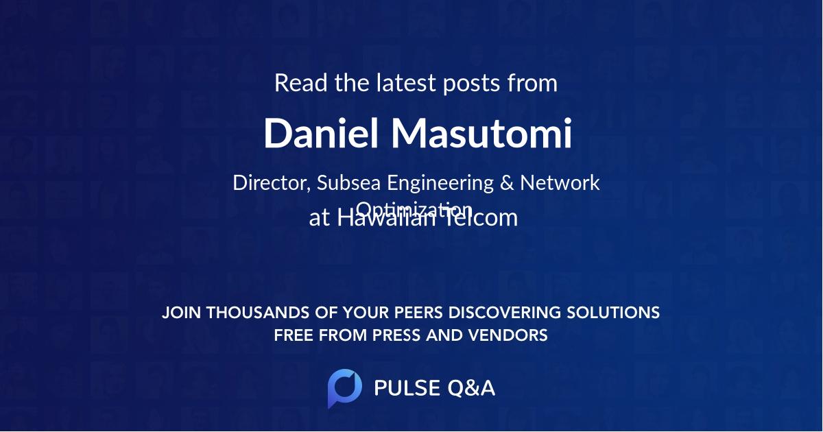 Daniel Masutomi