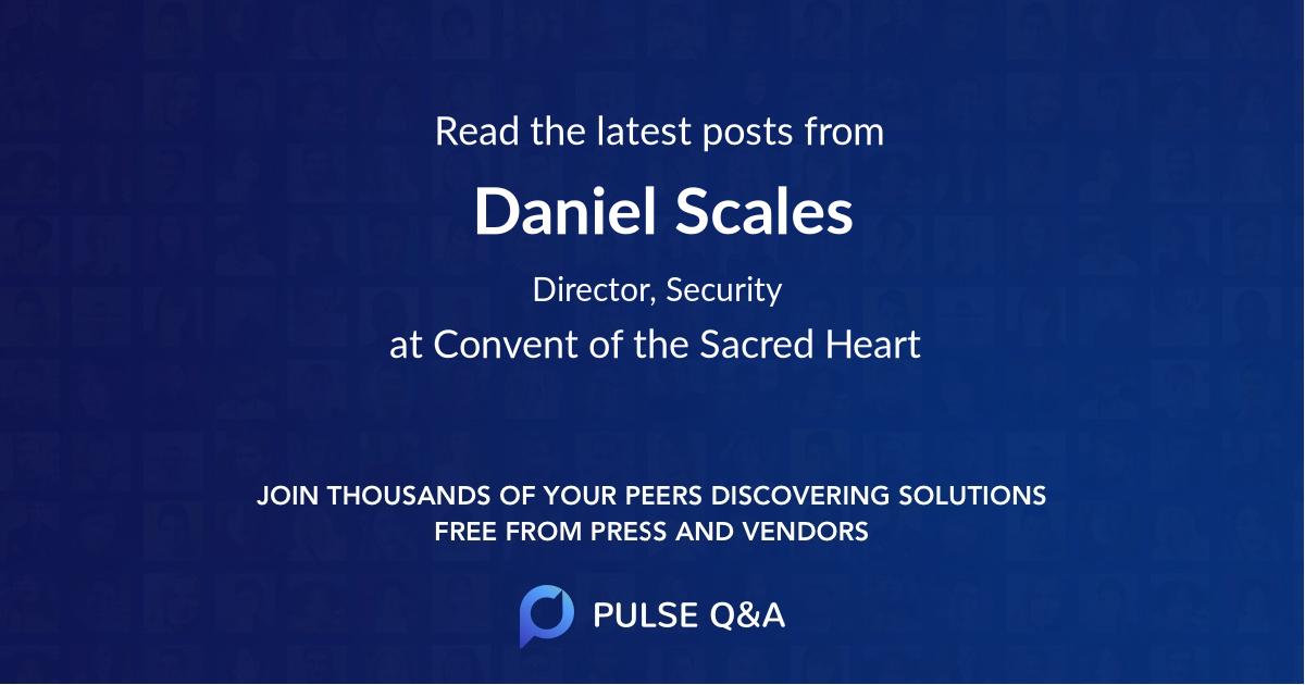 Daniel Scales
