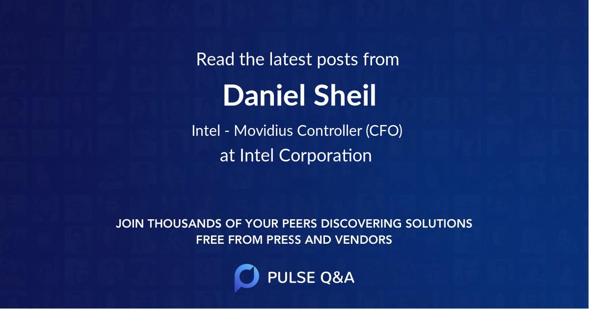 Daniel Sheil