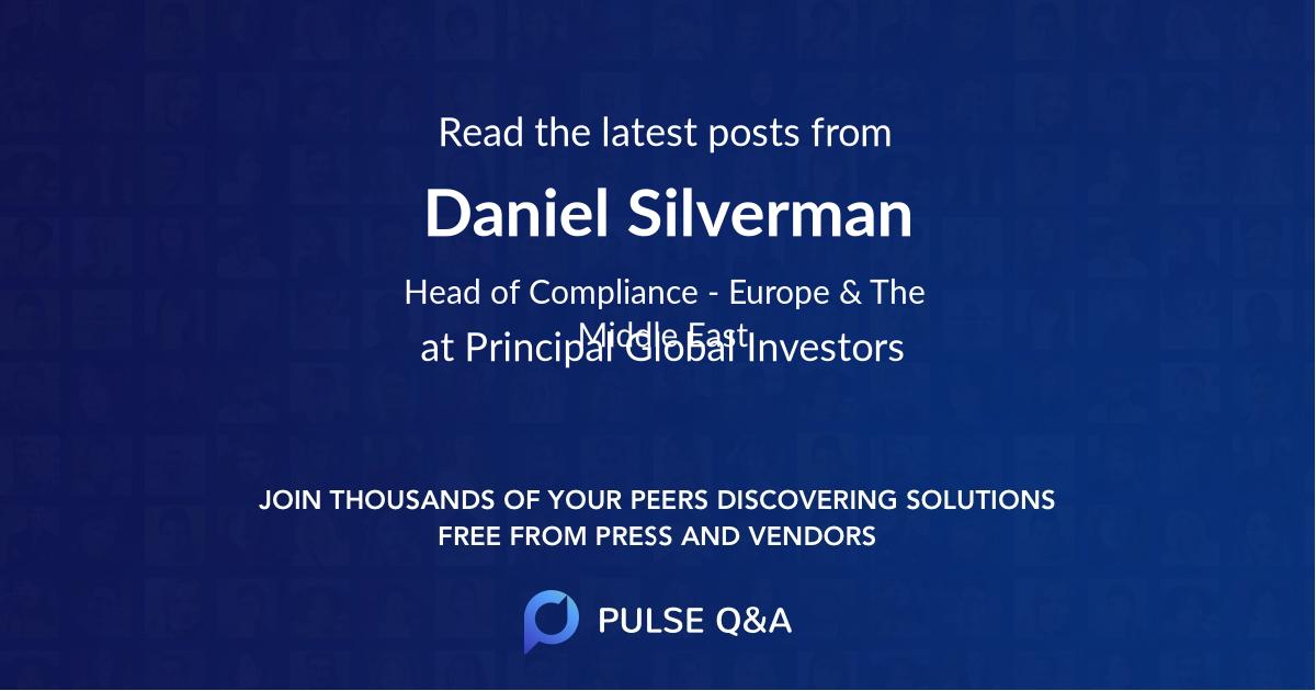 Daniel Silverman