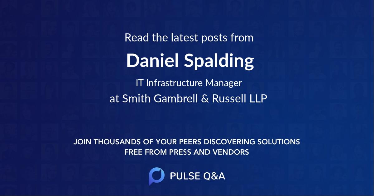 Daniel Spalding
