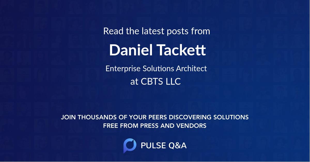 Daniel Tackett