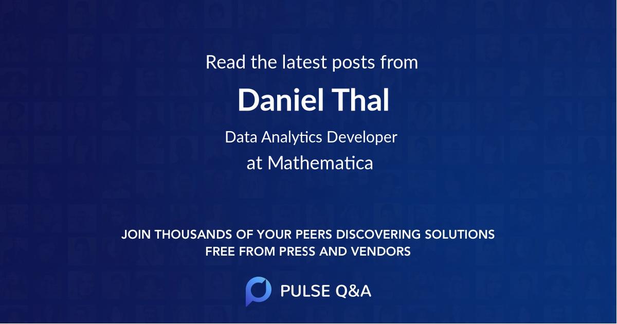 Daniel Thal