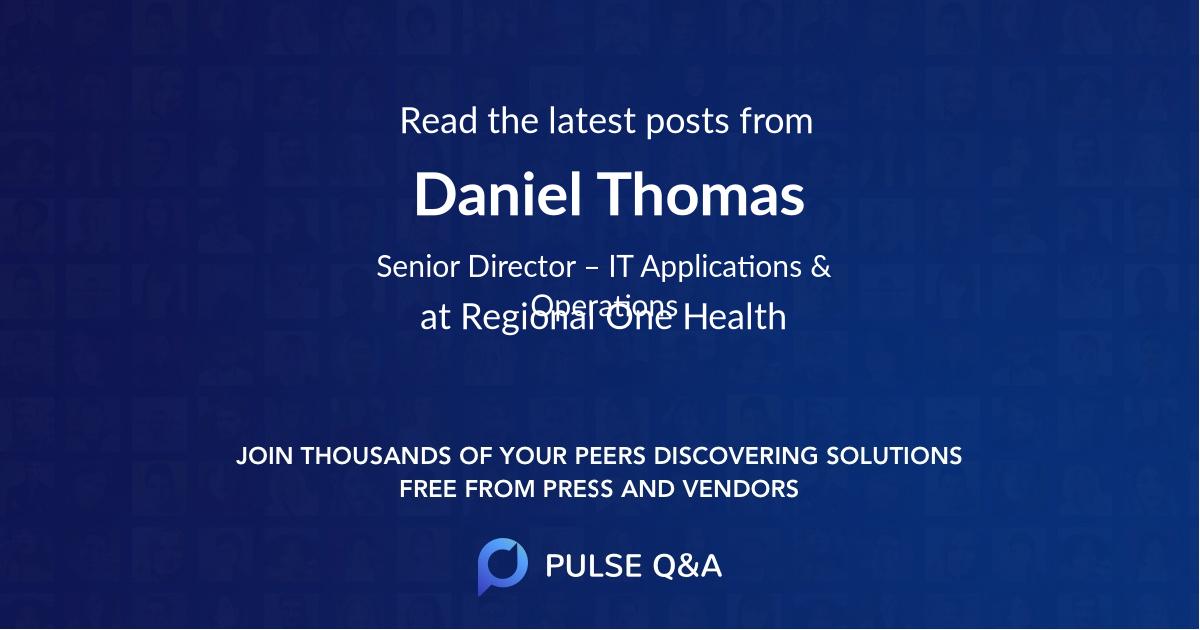 Daniel Thomas