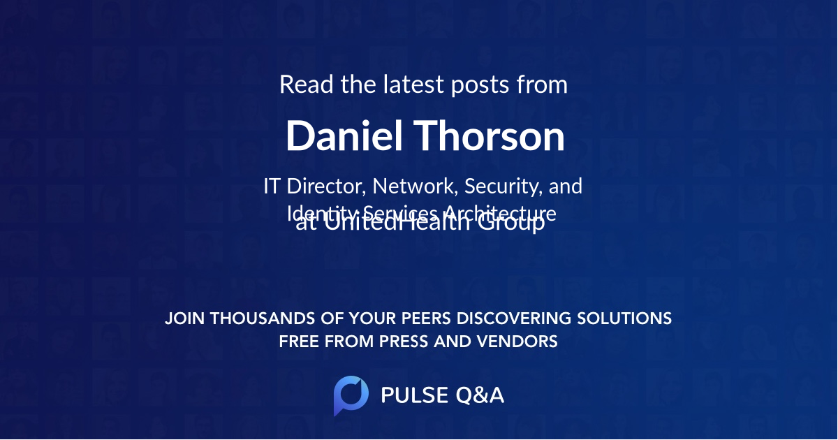 Daniel Thorson