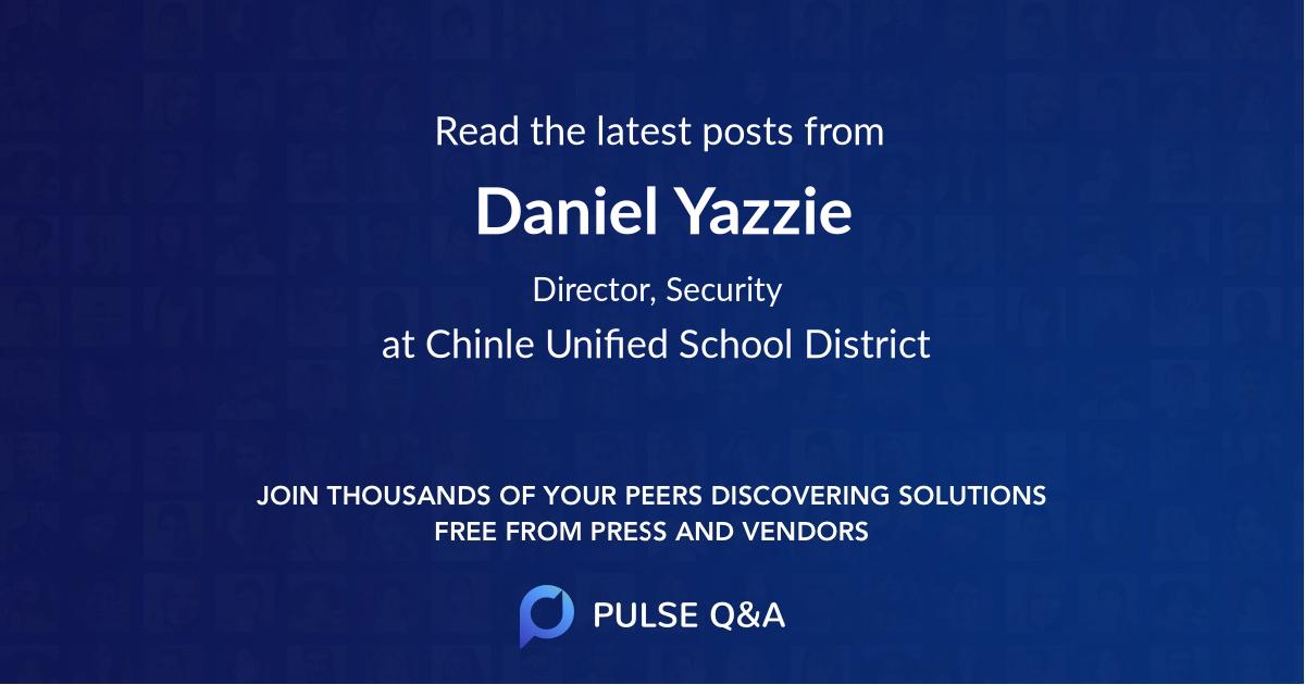 Daniel Yazzie