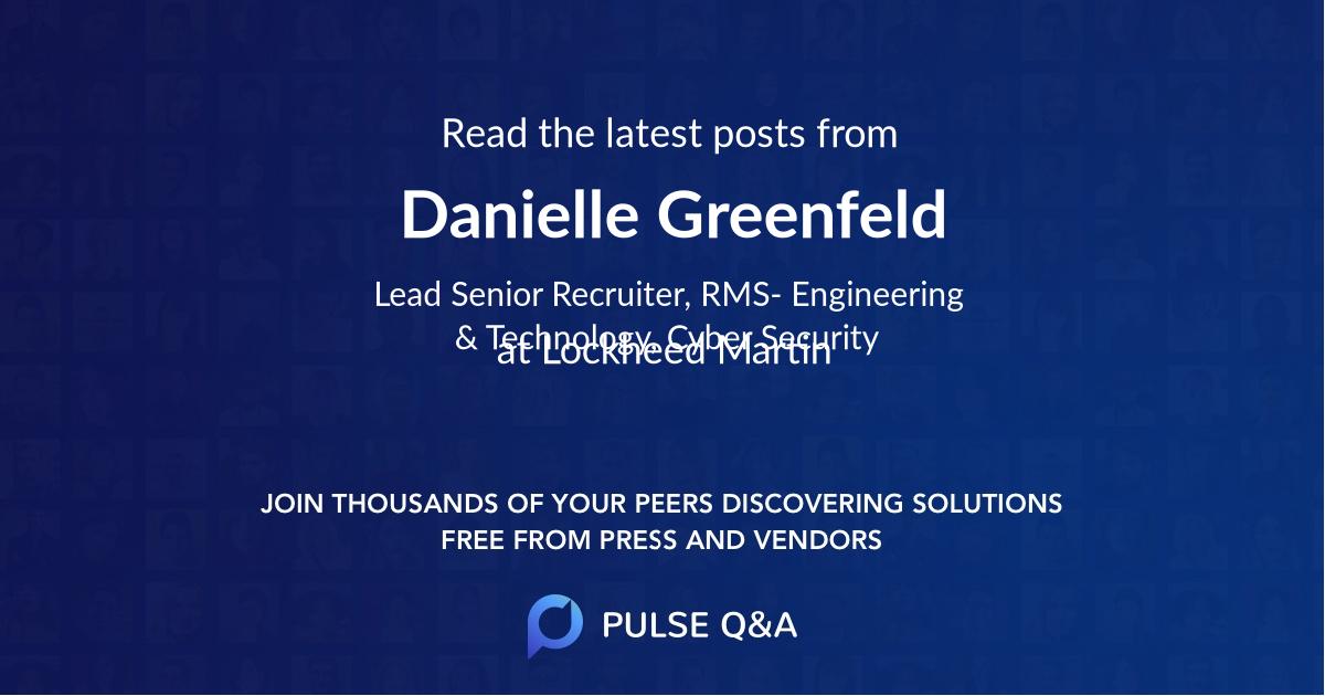 Danielle Greenfeld