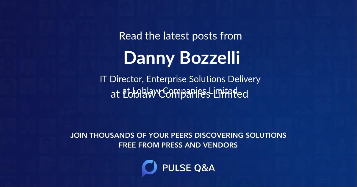 Danny Bozzelli