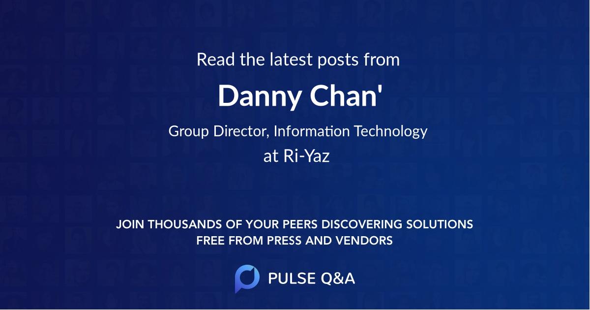 Danny Chan'
