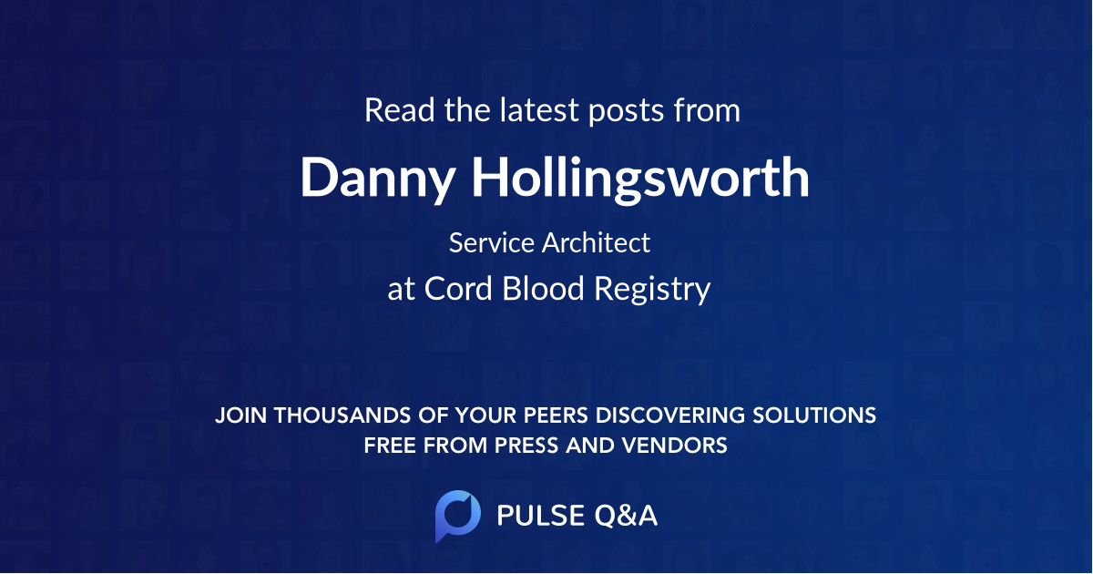 Danny Hollingsworth