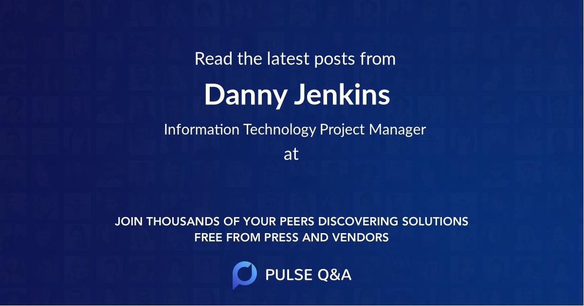 Danny Jenkins