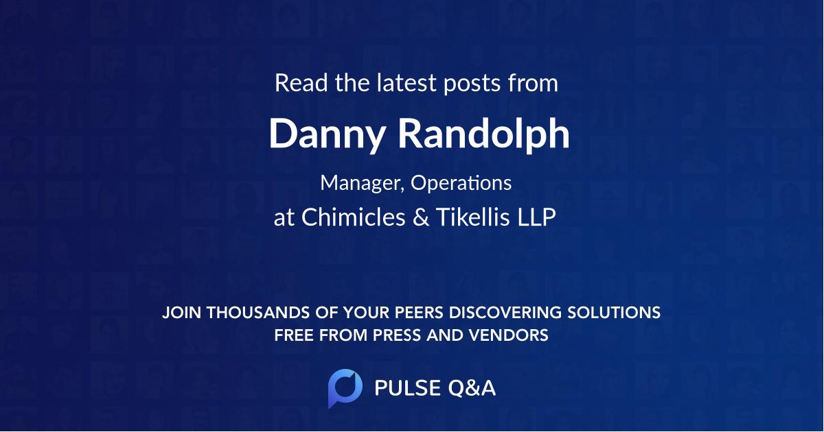 Danny Randolph