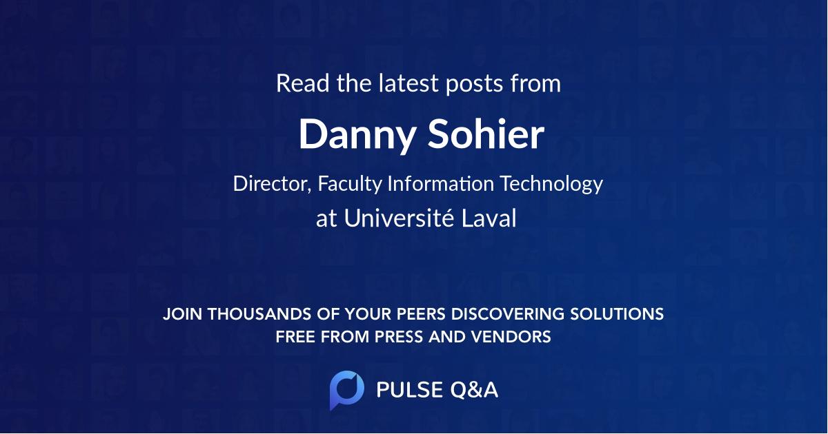 Danny Sohier