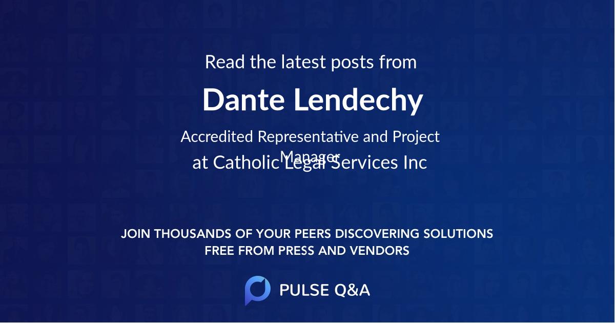 Dante Lendechy