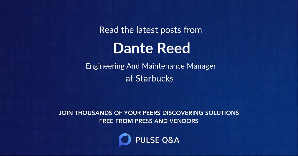 Dante Reed
