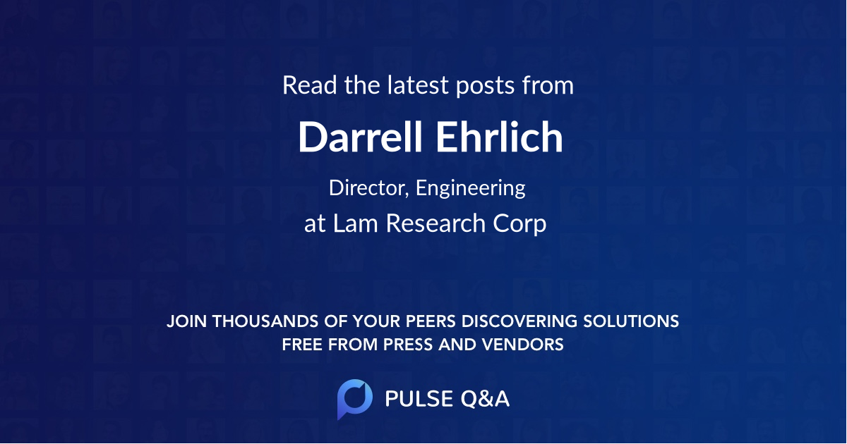Darrell Ehrlich