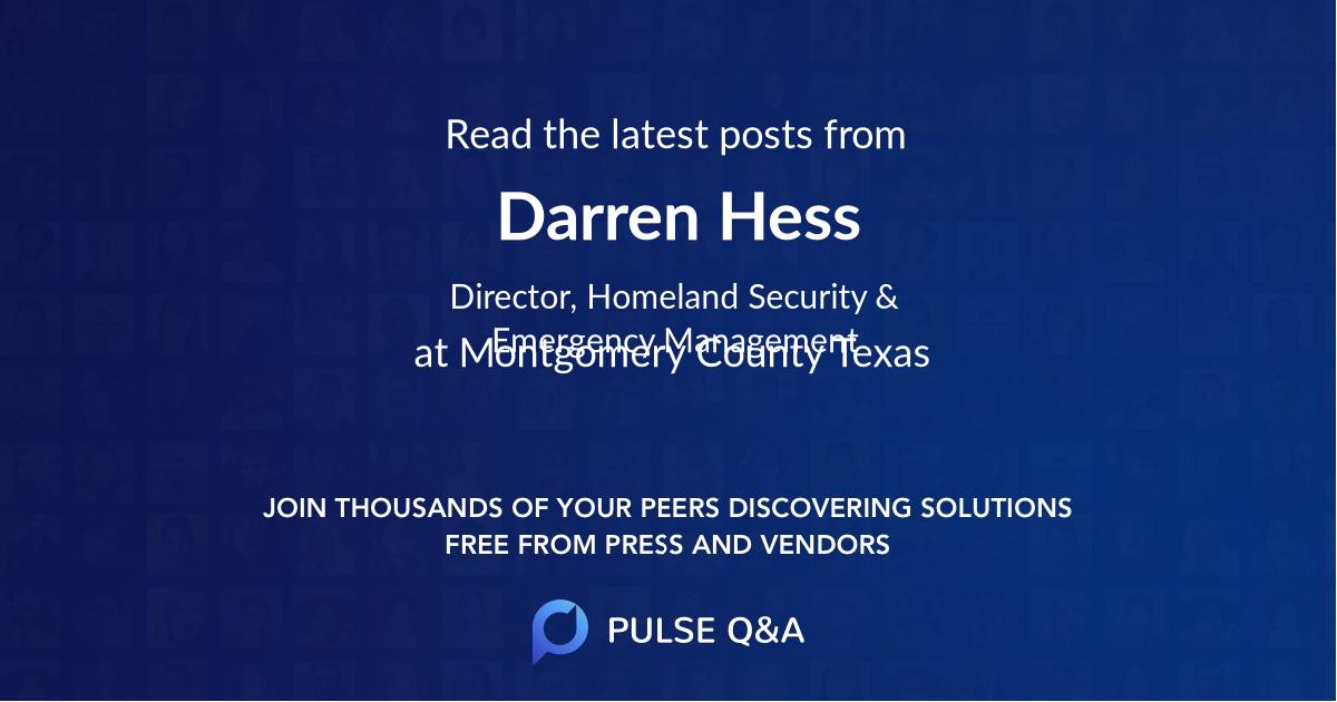 Darren Hess