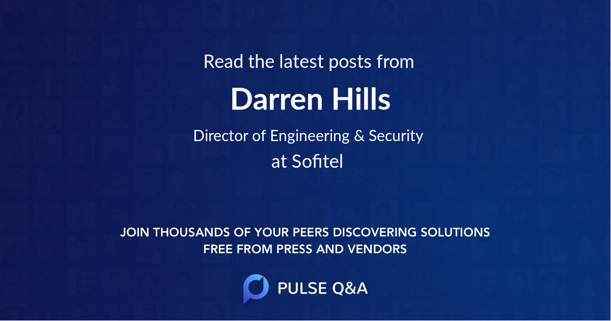 Darren Hills