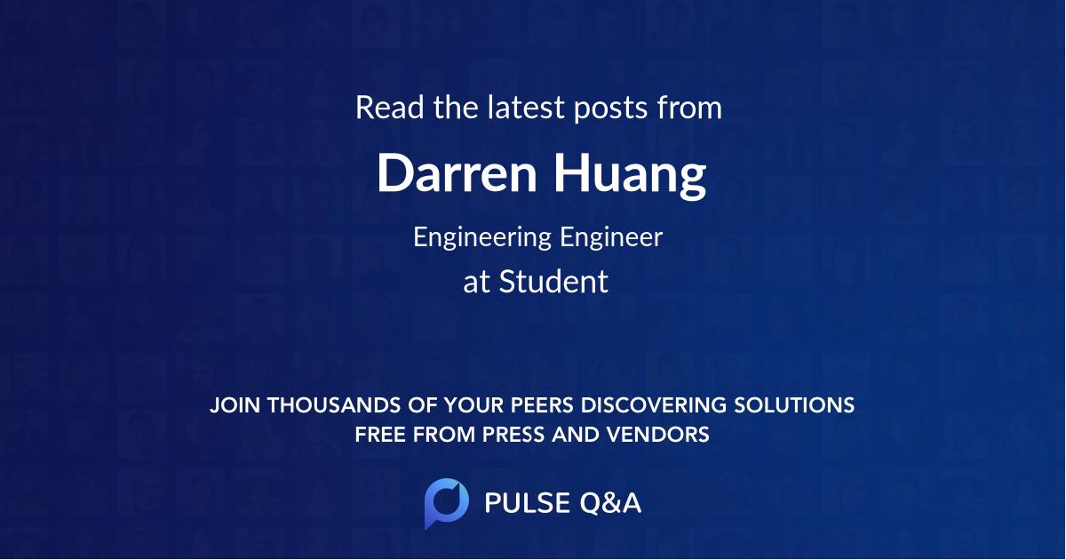 Darren Huang