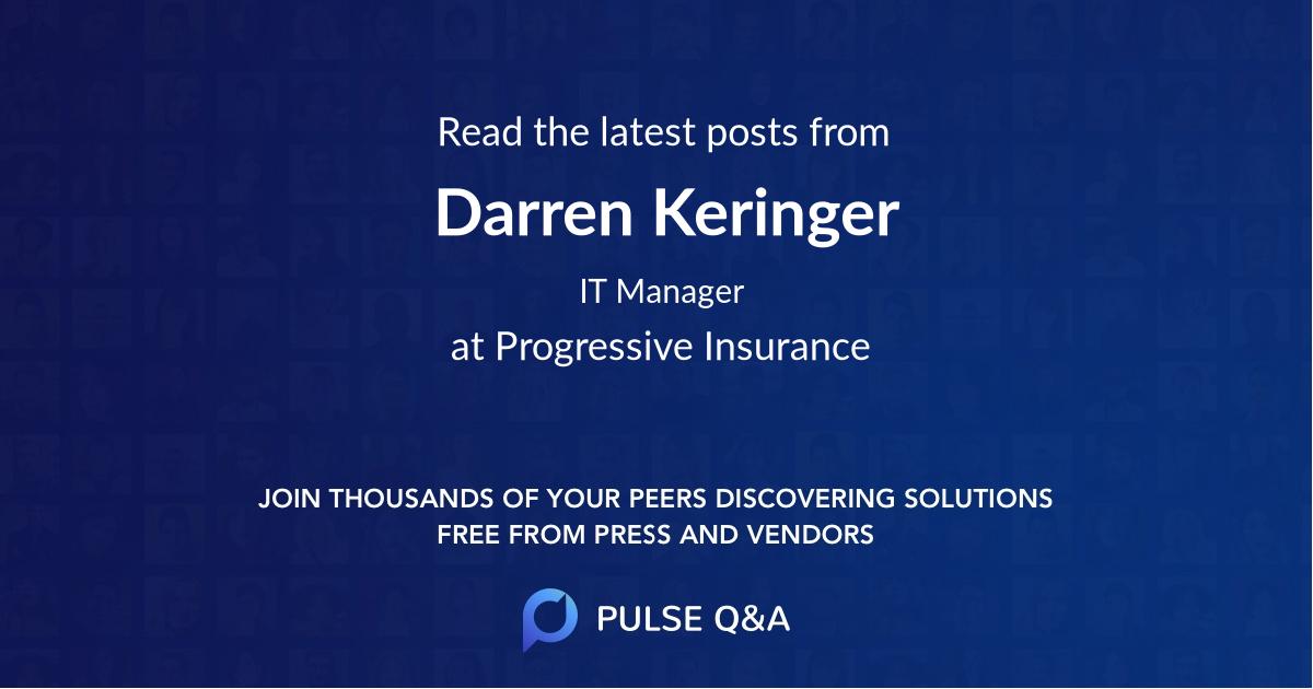 Darren Keringer