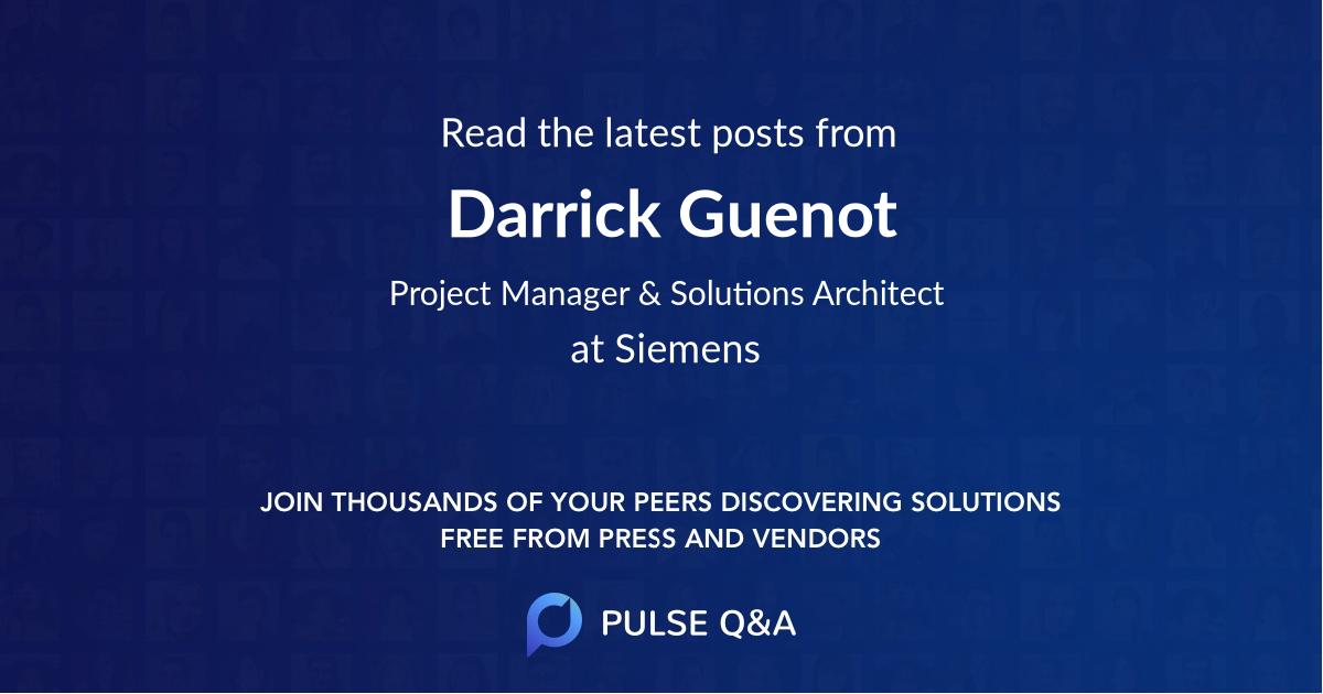 Darrick Guenot