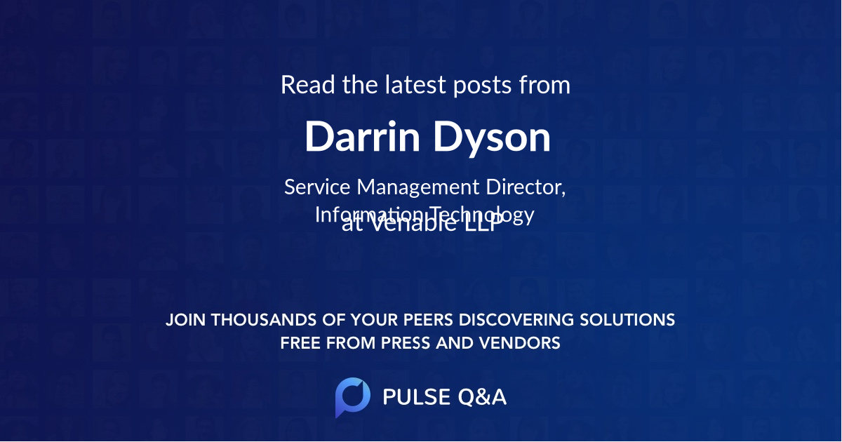 Darrin Dyson