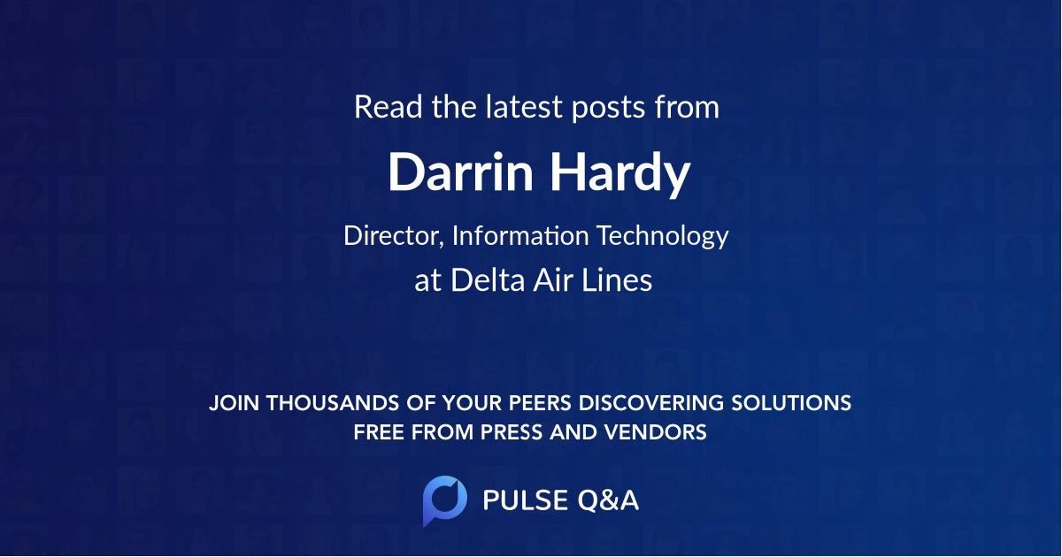 Darrin Hardy