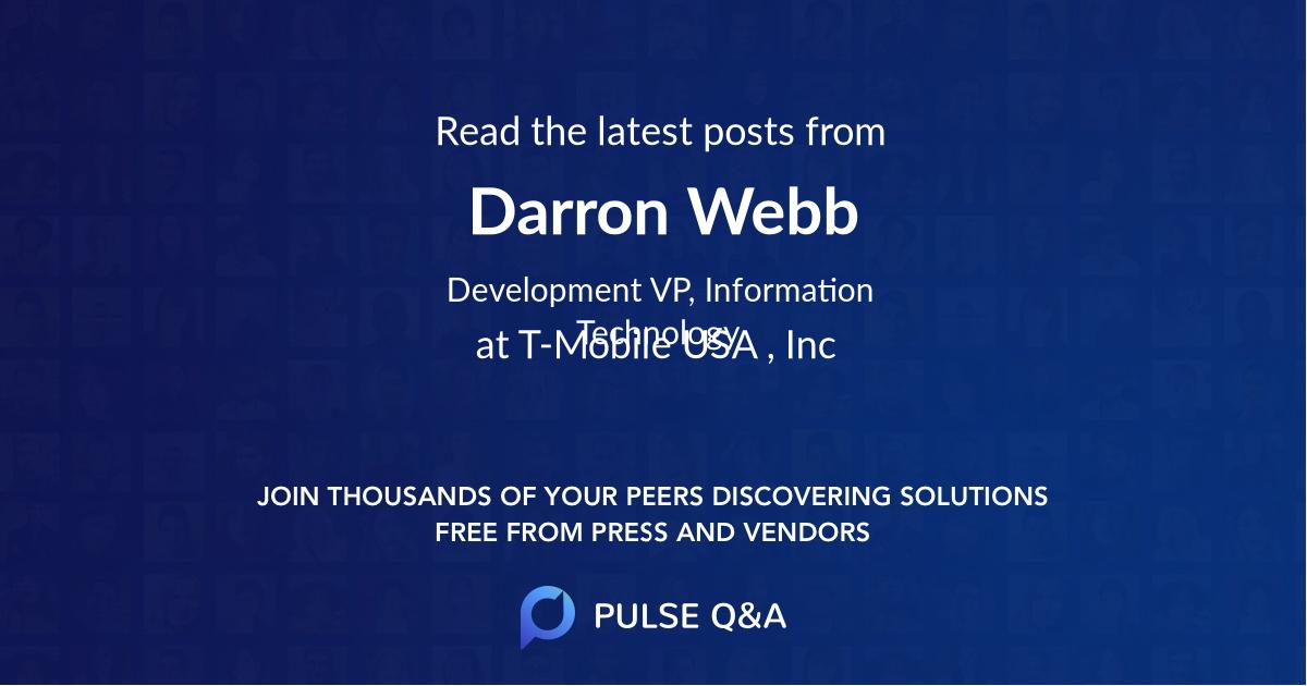 Darron Webb