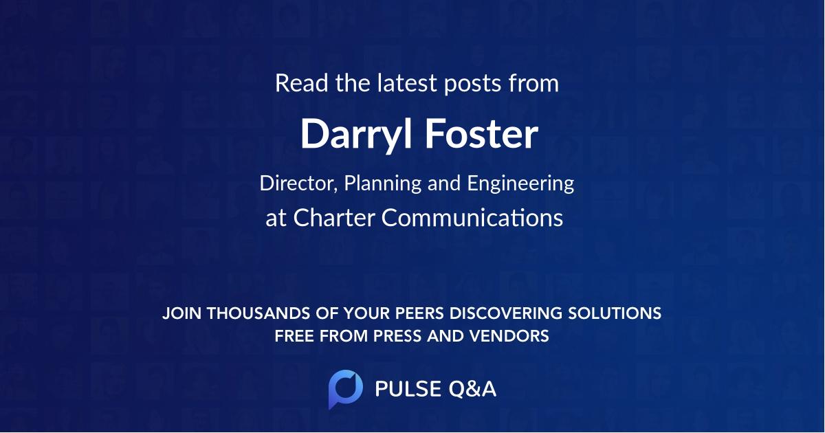 Darryl Foster