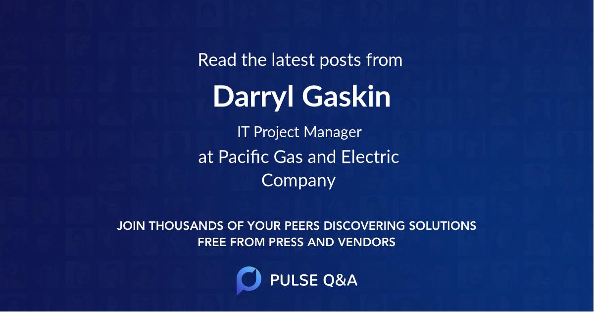 Darryl Gaskin