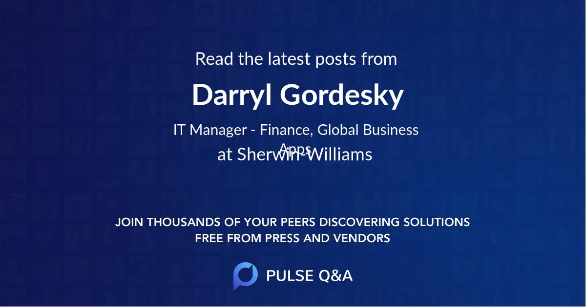 Darryl Gordesky