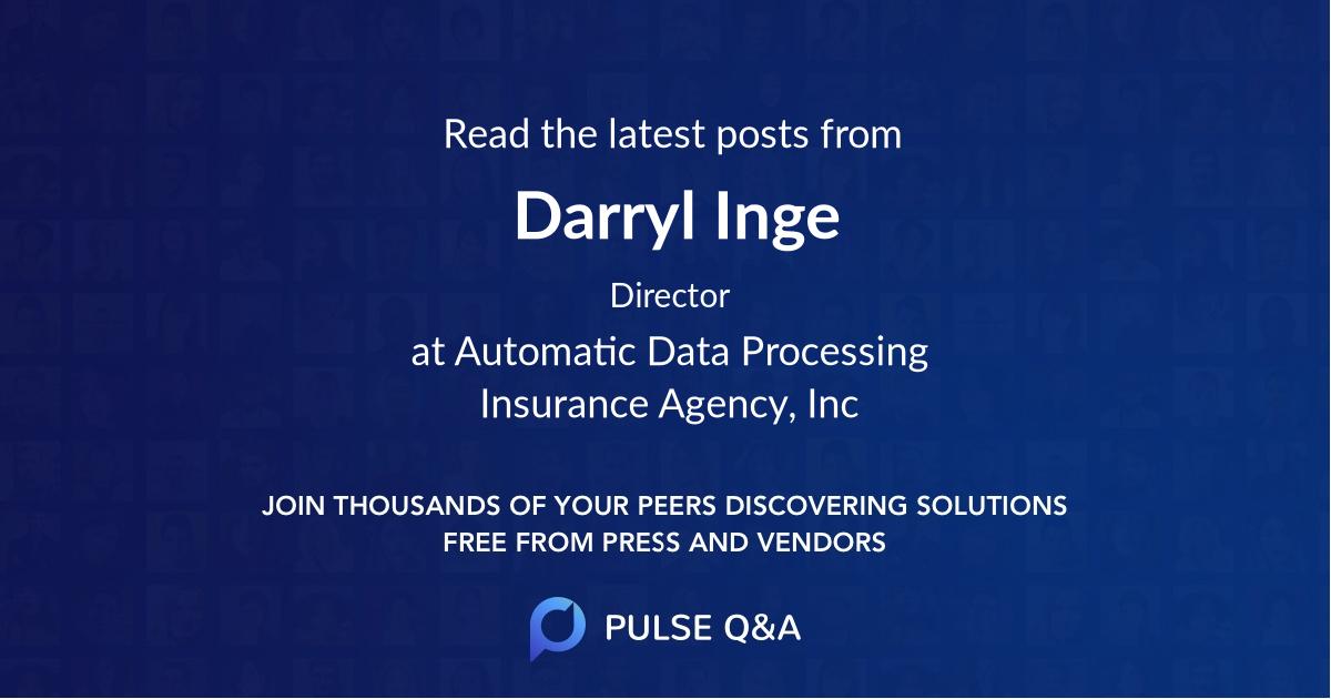 Darryl Inge
