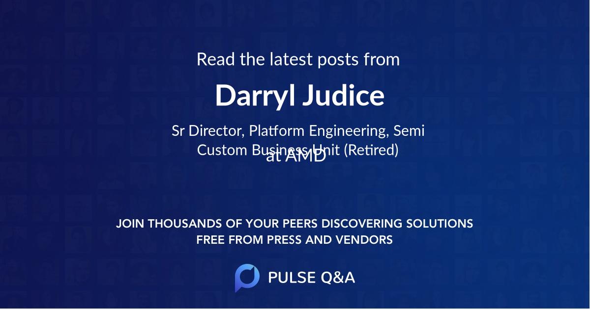 Darryl Judice