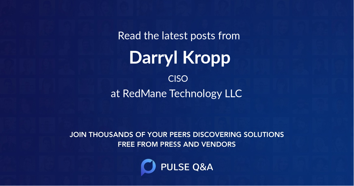 Darryl Kropp