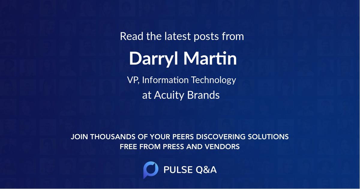 Darryl Martin