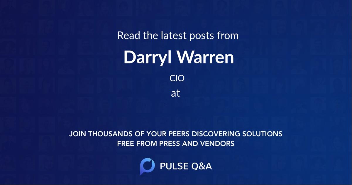 Darryl Warren