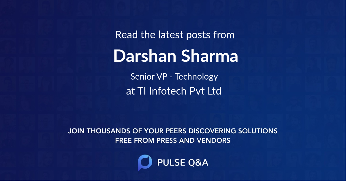 Darshan Sharma