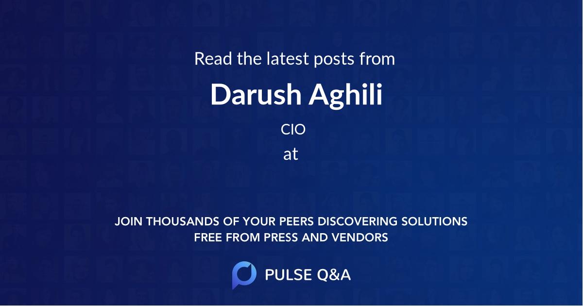 Darush Aghili