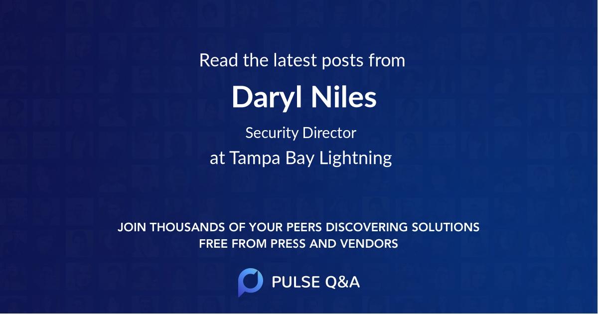 Daryl Niles