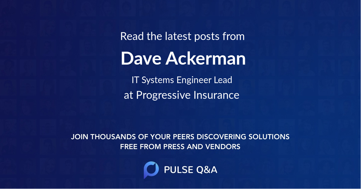 Dave Ackerman
