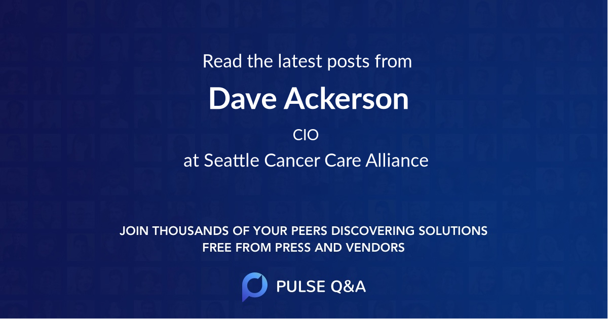 Dave Ackerson