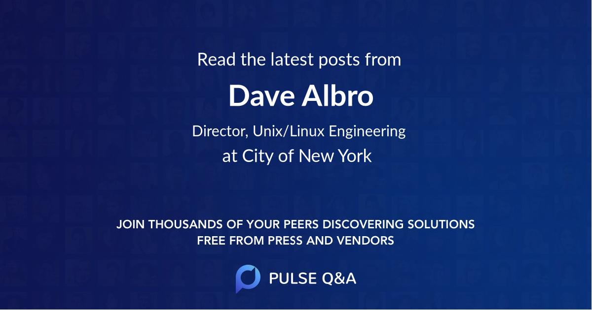 Dave Albro