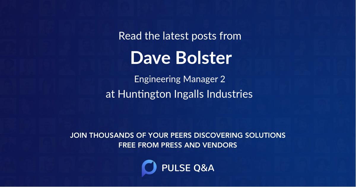 Dave Bolster