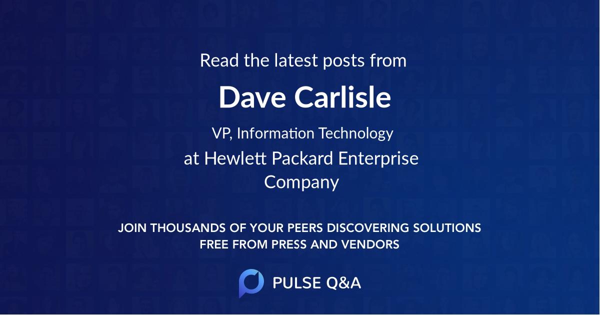 Dave Carlisle