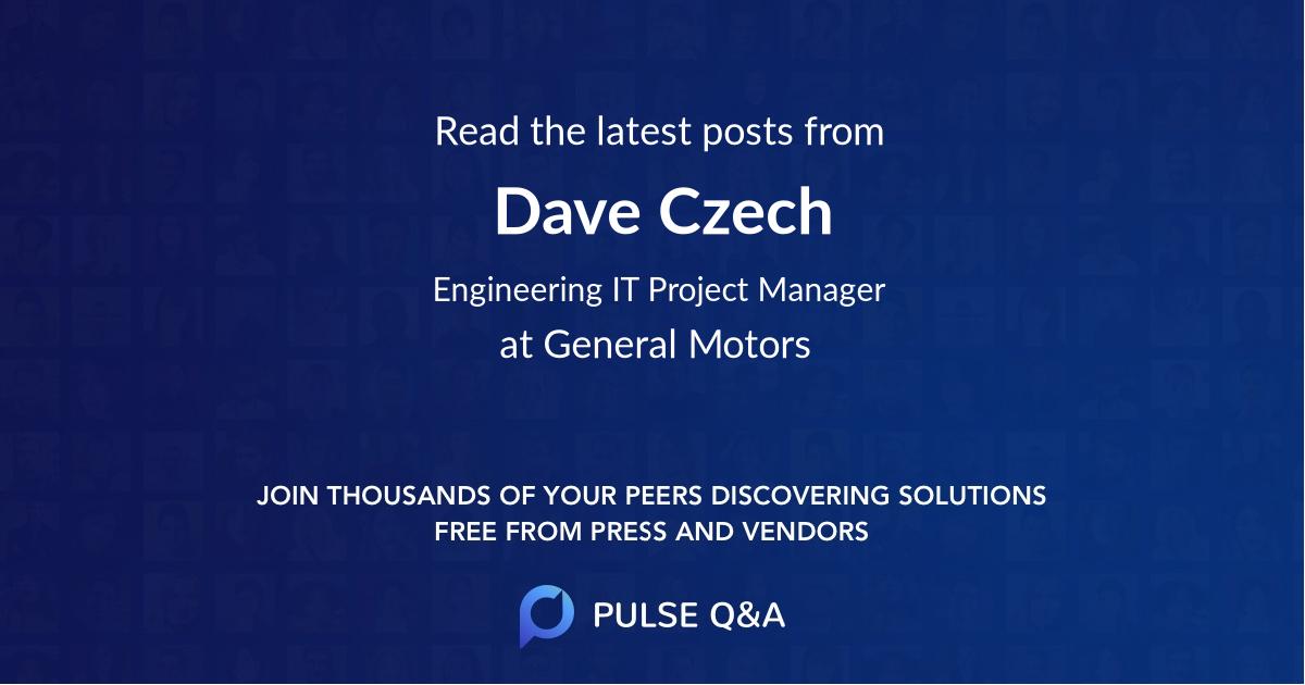 Dave Czech