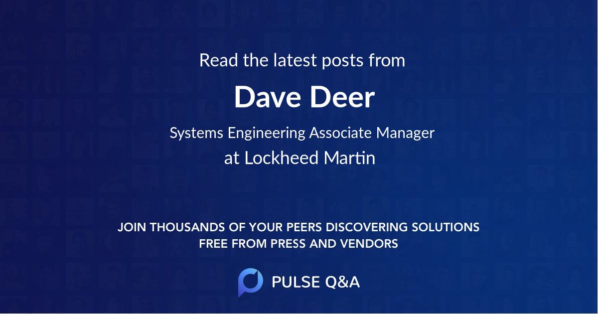 Dave Deer
