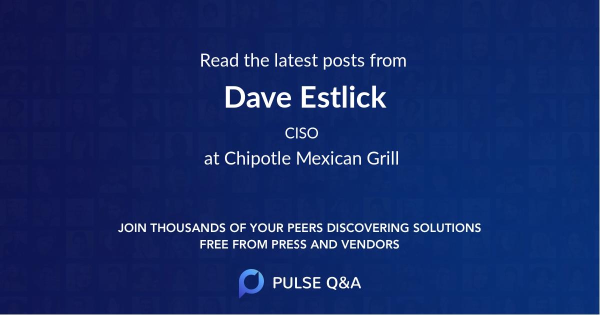 Dave Estlick
