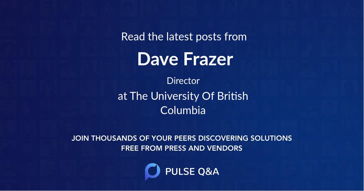Dave Frazer